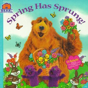 Book.Spring Has Sprung!