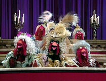 Madame Alma Cluck and the Poultry Choir