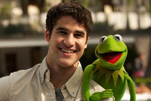 Darren criss and kermit