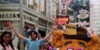 Breaking of the fourth wall in Muppet films