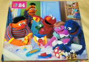Milton bradley 1995 puzzle sesame bath