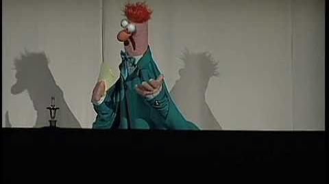 Beaker's Five Word Speech at The 13th Annual Webby Awards