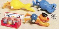 Sesame Street wind-up toys (Knickerbocker)