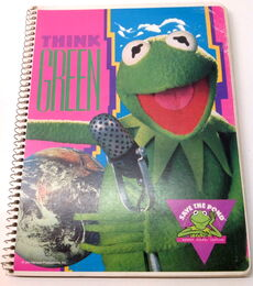 Mead think green save the pond notebook 1