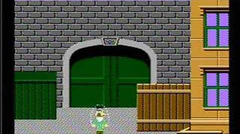 Big Bird's Hide & Speak - NES Gameplay