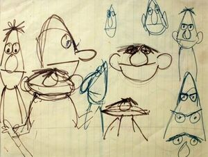 Bert-and-Ernie sketch