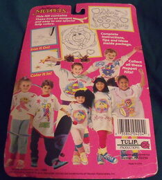 Tulip productions 1989 paint your shirt kit crafts 2