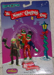 Christmas carol bendy toys