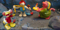 Fraggle Rock PVC figures (Spain)