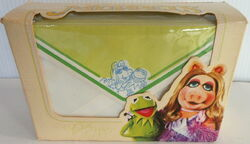 Whitings 1980 muppet stationery note pad envelopes 4