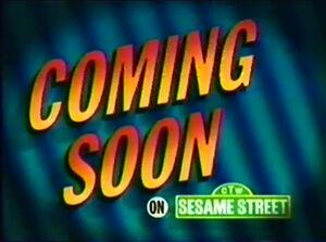Coming Soon on Sesame Street