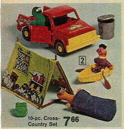 Knickerbocker 1976 cross-country set