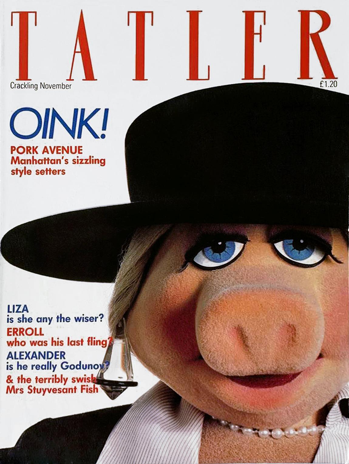 Tatler magazine - November 1982
