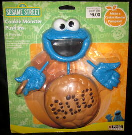 Cookie monster push ins pmg halloween