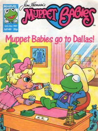 Muppet babies weekly uk 12 dec 1987