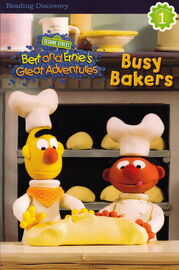Bert ernie chapter book busy bakers