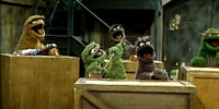 Oscar the Grouch and His Junk Band