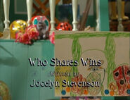 Who Shares Wins titlecard