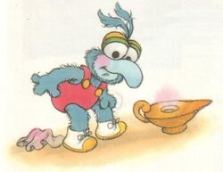 Baby gonzo gets his wish
