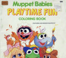 Muppet Babies coloring books
