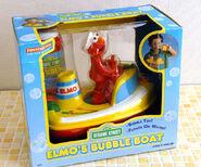 Tootsietoy 1997 elmo's bubble boat 1