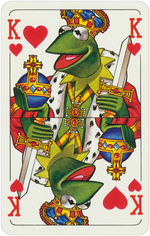 1978 playing cards King Hearts
