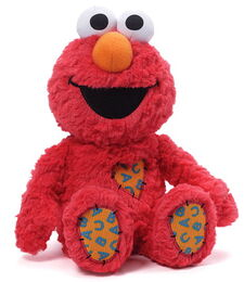 Gund 2015 heart patch plush elmo