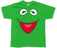 T-Shirt-KermitFaceOpenMouth