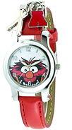 Jc penney animal red strap charm watch