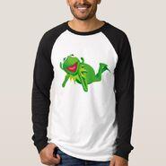 Zazzle 2 kermit lying shirt