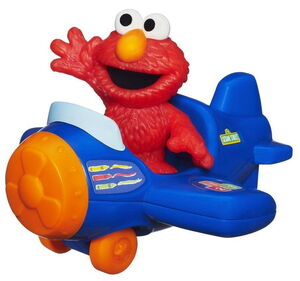 Playskool elmo with airplane 2
