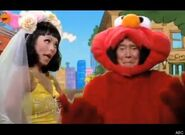 Regis Kelly Elmo Katie
