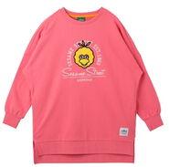Pancoat onepiece pink big bird