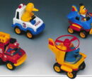 Sesame Street pull back vehicles