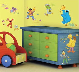 Roommates 2010 sesame street wall decals 1