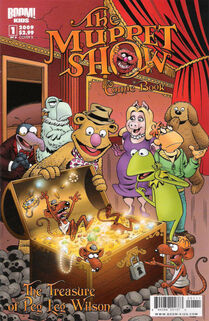 The Muppet Show Comic Book: The Treasure of Peg-Leg Wilson