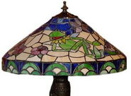 Glassmasters kermit tiffany lamp 6