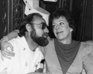 Jerry Nelson and Carol Burnett