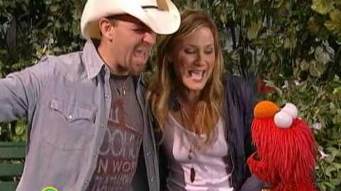 Sesame Street Sugarland And Elmo