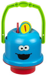 Cookie monster mini bucket 2