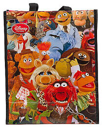 Disney store uk 2012 muppet shopper bag