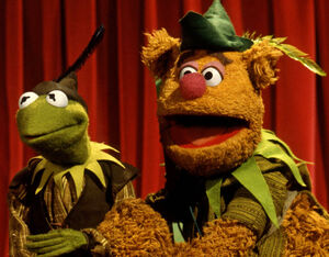 Kermit Fozzie Robin Hood