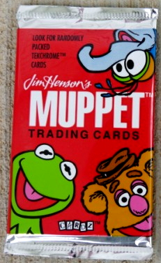 Muppet trading cards box 4