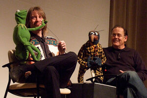 Steve and Kermit, Dave and Gonzo