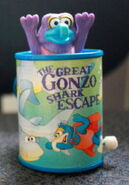 Tomy 1983 gonzo windup