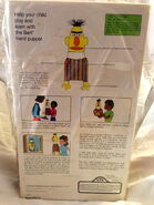 Topper educational toys 1971 bert hand puppet 3