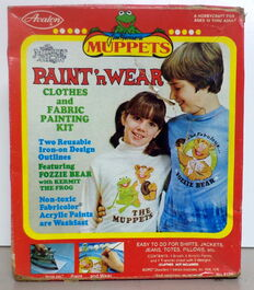 Avalon 1978 muppet show paint n wear kit 1