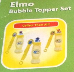 Funrise 2008 elmo bubble topper set 3