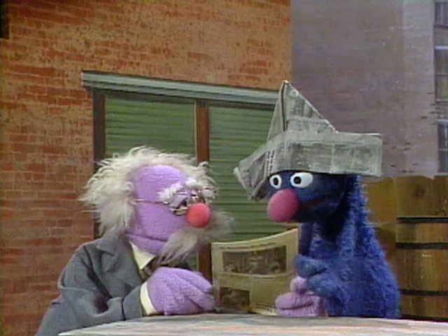 Grover.newspaper