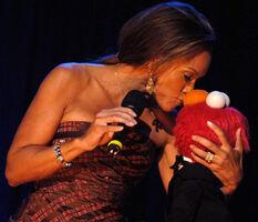 Williams kiss